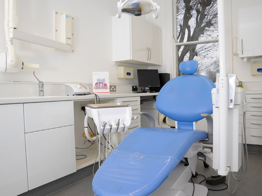 dentist chair in penerley road dental surgery